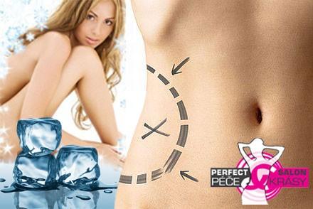 Zmrazte tukové buňky kryolipolýzou 60 min. + lymfodrenáž 30 min. + omlazující mléko jako dárek